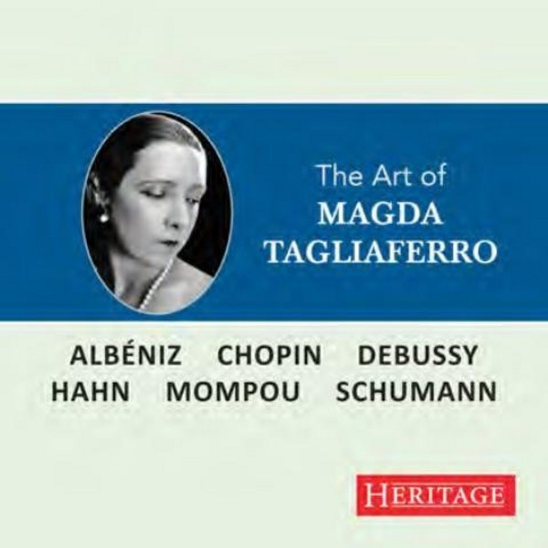 The Art of Magda Tagliaferro | Heritage HTGCD277