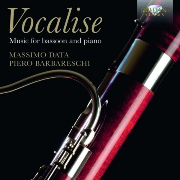 Vocalise: Music for Bassoon and Piano | Brilliant Classics 95009BR