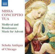 Missa Conceptio Tua: Medieval and Renaissance Music for Advent | Naxos 8573260