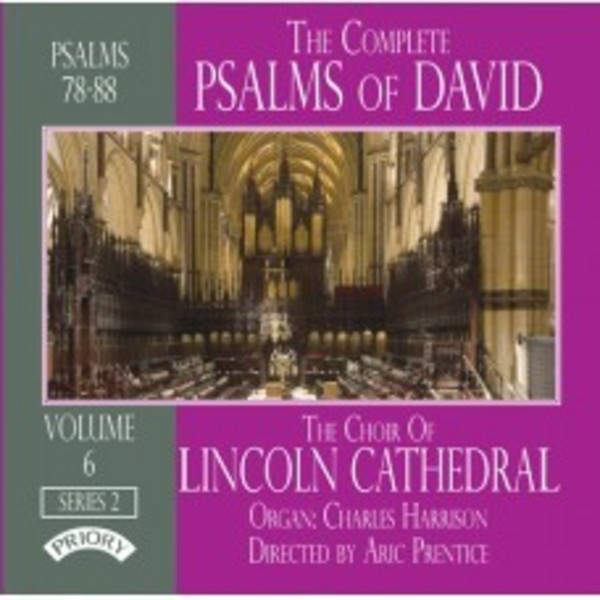 The Complete Psalms of David Vol.6 | Priory PRCD1115