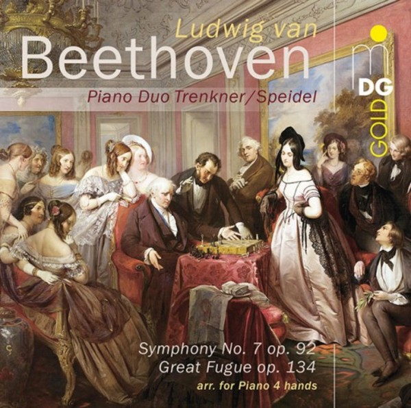 Beethoven - Symphony No.7, Great Fugue (arr. piano 4 hands) | MDG (Dabringhaus und Grimm) MDG9301861