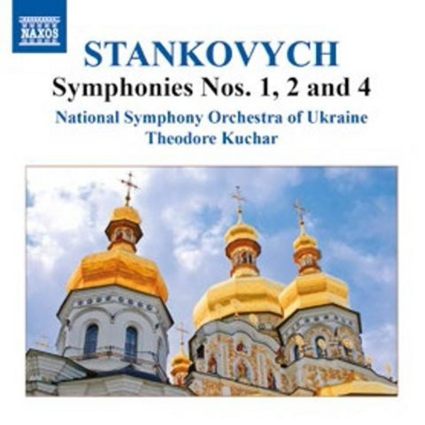 Yevhen Stankovych - Symphonies Nos 1, 2 and 4 | Naxos 8555741