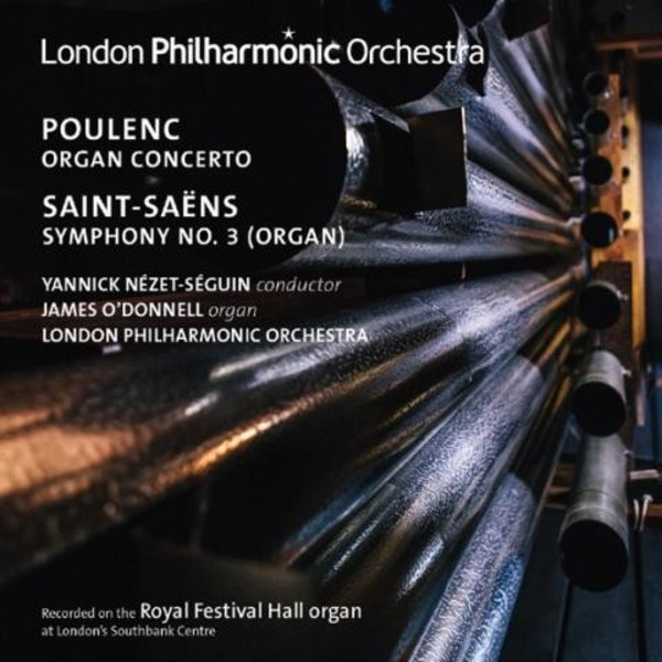 Poulenc and Saint Saens Organ Works | LPO LPO0081