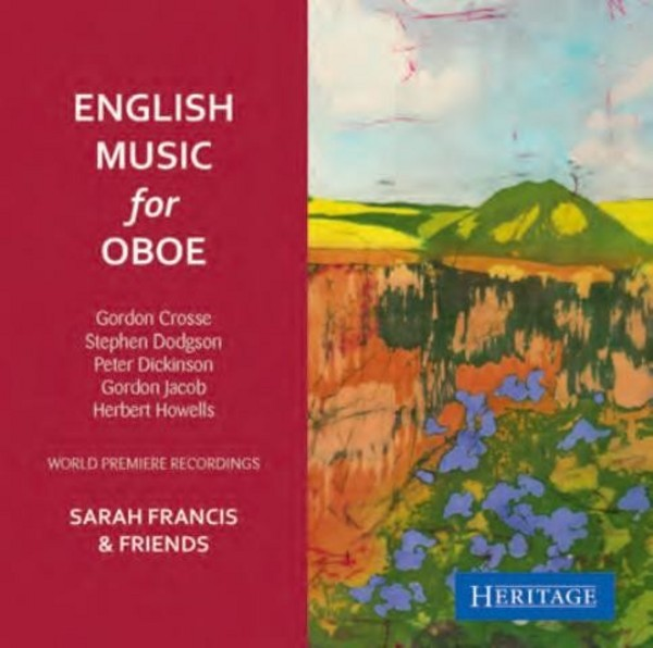 English Music for Oboe | Heritage HTGCD275