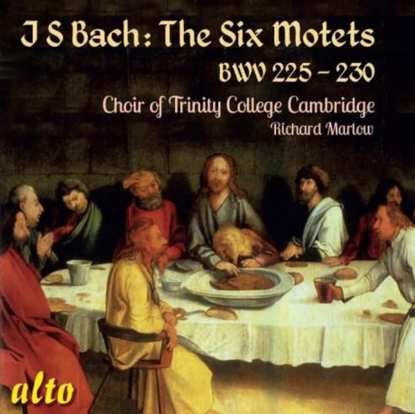 J S Bach - The Six Motets BWV225-230 | Alto ALC1271