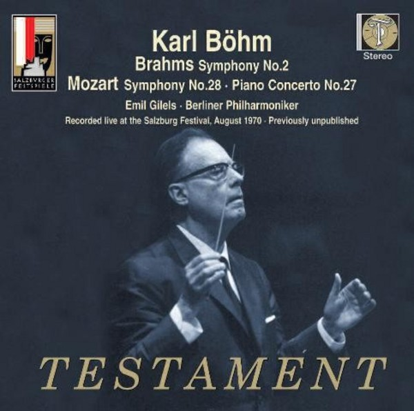 Karl Bohm conducts Brahms and Mozart | Testament SBT21499