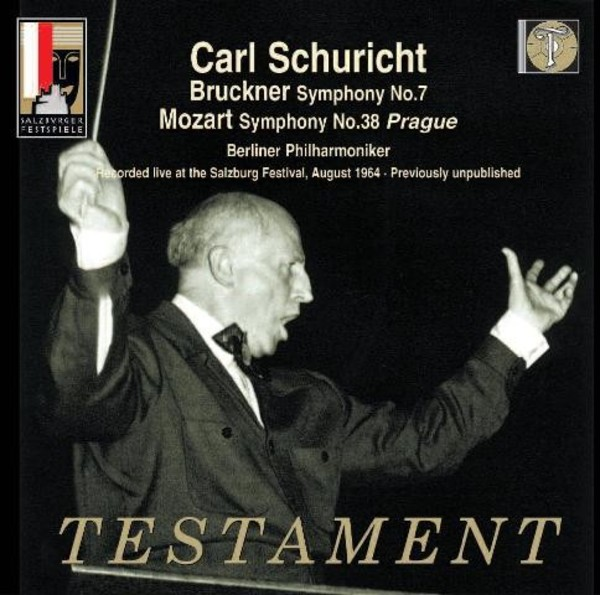 Carl Schuricht conducts Bruckner and Mozart | Testament SBT21498