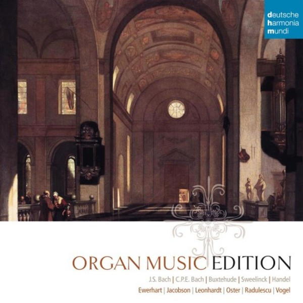 Organ Music Edition | Deutsche Harmonia Mundi (DHM) 88843089992