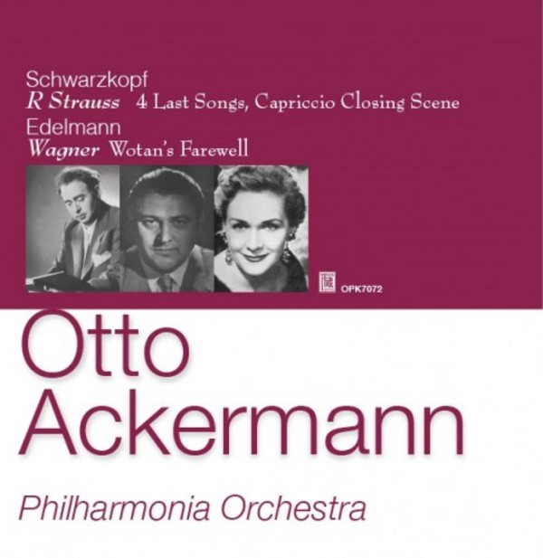 Otto Ackermann conducts the Philharmonia Orchestra | Opus Kura OPK7072