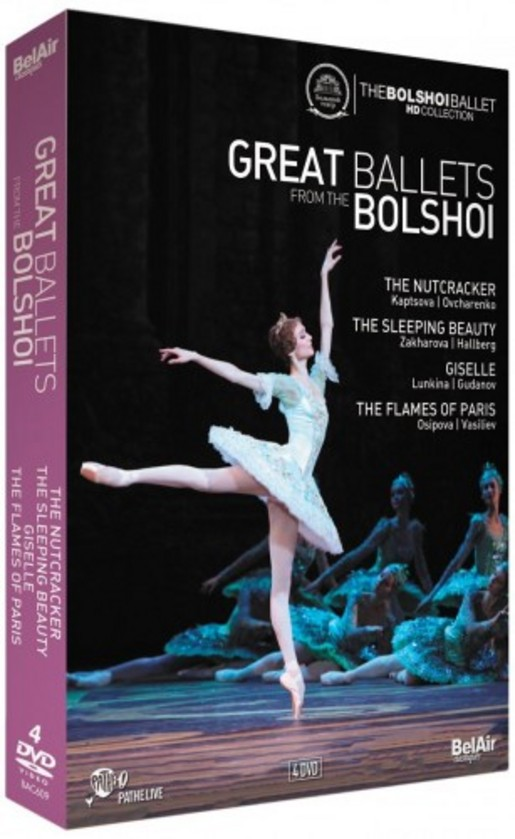 Great Ballets from the Bolshoi (DVD) | Bel Air BAC609