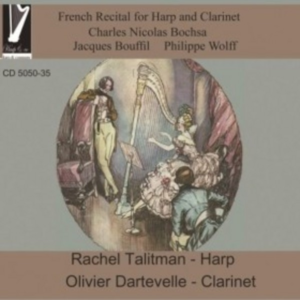 French Recital for Harp and Clarinet | Harp & Co CD505035