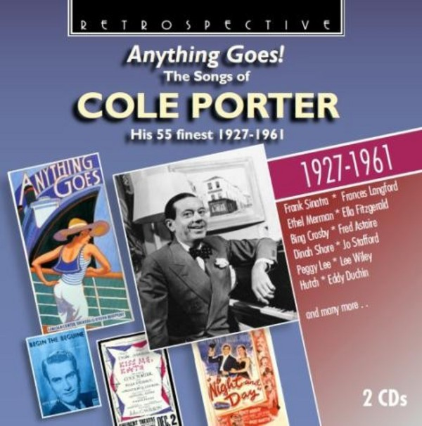 Cole Porter - Anything Goes! (His 55 finest 1927-61) | Retrospective RTS4257