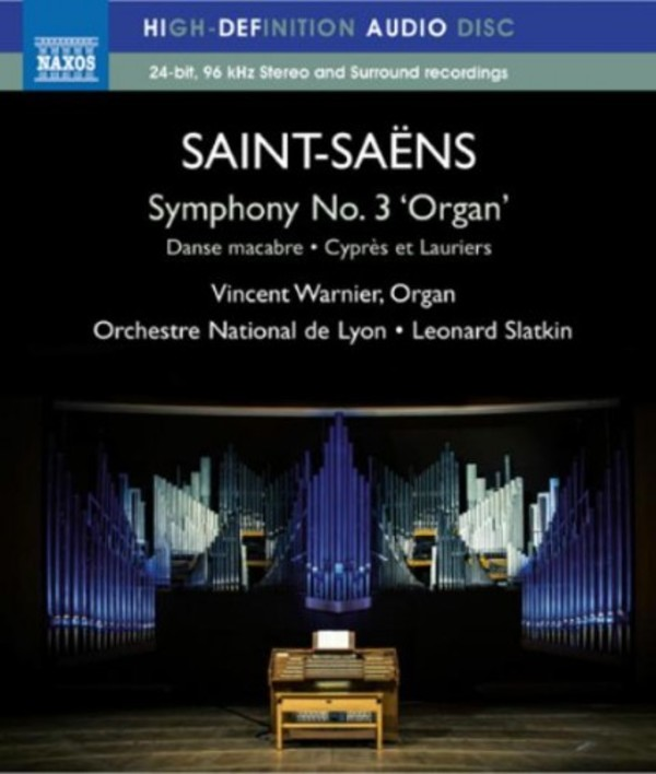 Saint-Saens - Symphony No.3 �Organ� (Blu-ray)