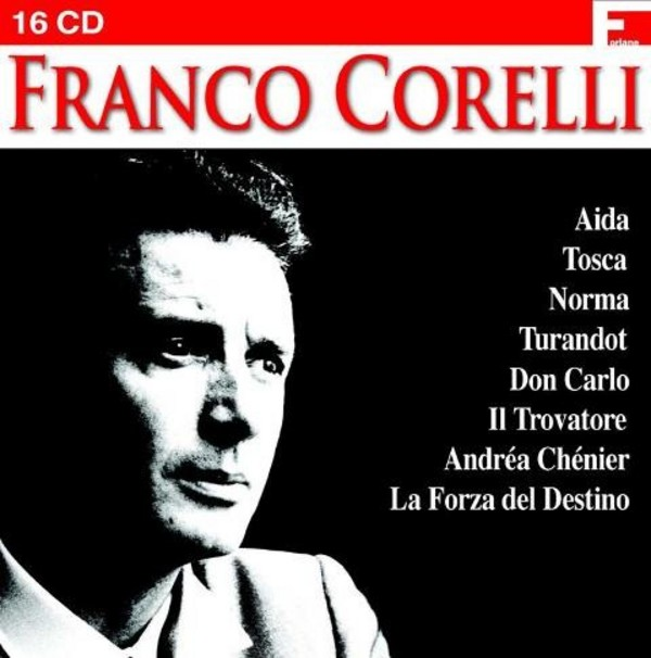 Franco Corelli in Opera | Disque Dom FOR17009