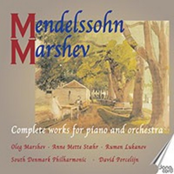 Mendelssohn - Complete Works for Piano & Orchestra | Danacord DACOCD734736