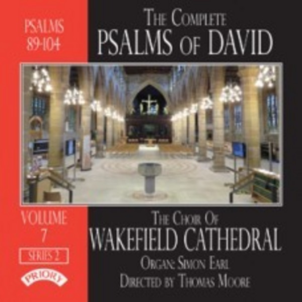 The Complete Psalms of David Vol.7 Series 2 | Priory PRCD1120