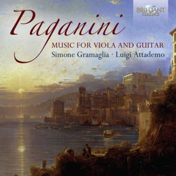 Paganini - Music for Guitar and Viola | Brilliant Classics 94963BR