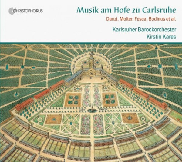Music at the Court of Karlsruhe | Christophorus CHR77391