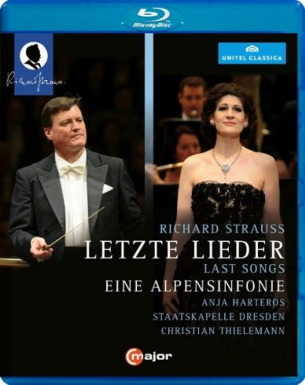 R Strauss - Letzte Lieder, Eine Alpensinfonie (Blu-ray) | C Major Entertainment 726504