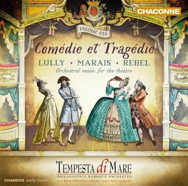 Comedie et Tragedie Vol.1 | Chandos - Chaconne CHAN0805