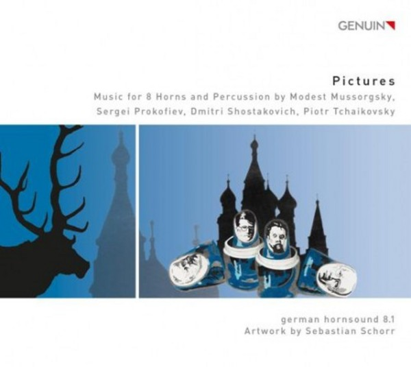 Pictures: Music for Horns and Percussion | Genuin GEN15340
