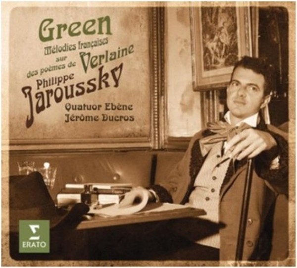 Green: French Songs on Poems by Verlaine (Deluxe Edition) | Erato 2564616695