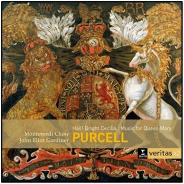 Purcell - Hail! Bright Cecilia, Music for Queen Mary | Erato - Veritas x2 2564619524