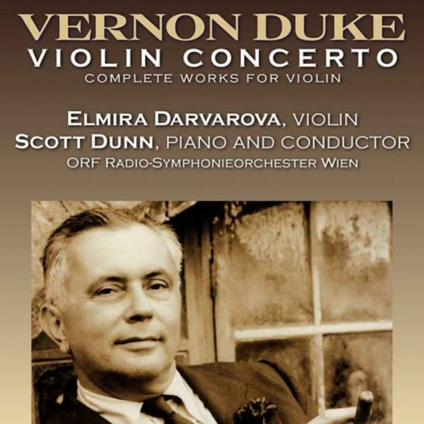 Vernon Duke - Violin Concerto, Complete Works for Violin | Urlicht UAV5990