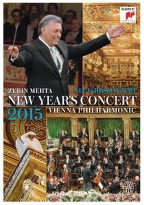 New Year's Concert 2015 (DVD) | Sony 88875035509