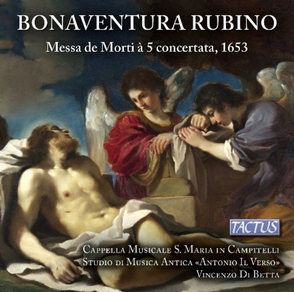 Bonaventura Rubino - Messa di Morti | Tactus TC601803