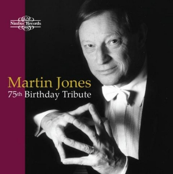 Martin Jones: 75th Birthday Tribute | Nimbus NI1718