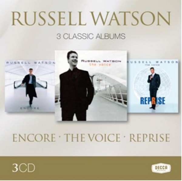Russell Watson: 3 Classic Albums | Decca 4811452