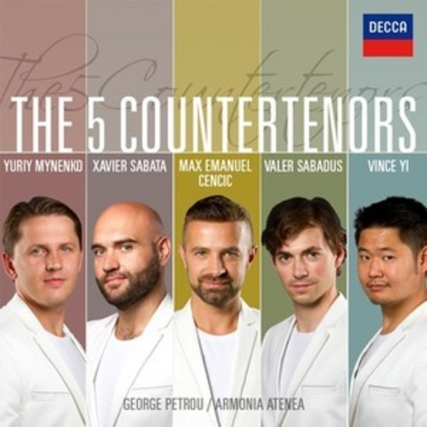 The 5 Countertenors | Decca 4788094