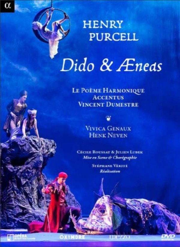 Purcell - Dido and Aeneas (DVD) | Alpha ALPHA706