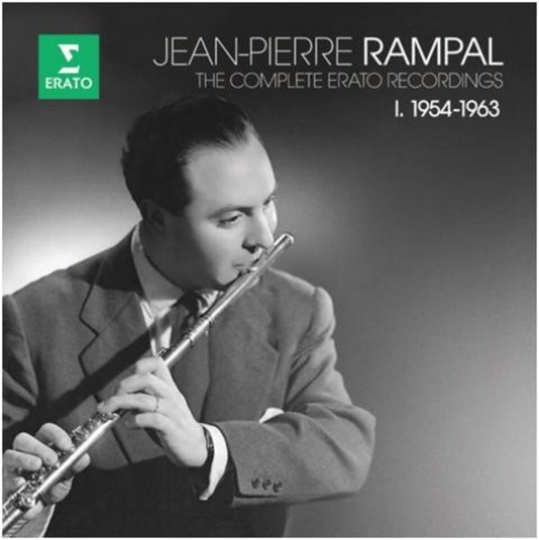 Jean-Pierre Rampal: The Complete Erato Recordings Vol.1 1954-63  | Erato 2564619044