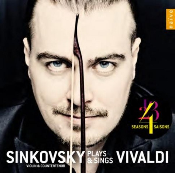 Sinkovsky plays and sings Vivaldi | Naive OP30559