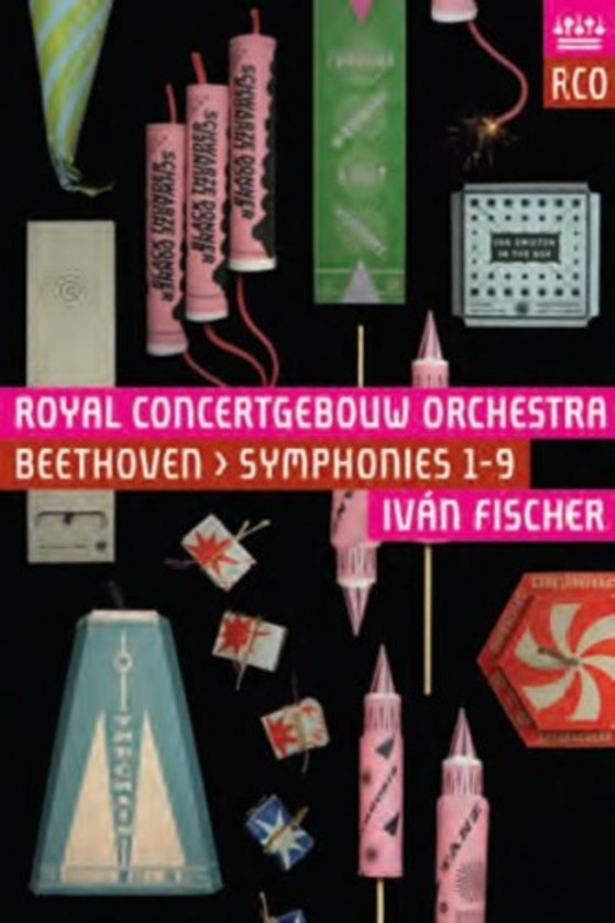 Beethoven - Symphonies 1-9 (Blu-ray) | RCO Live RCO14108
