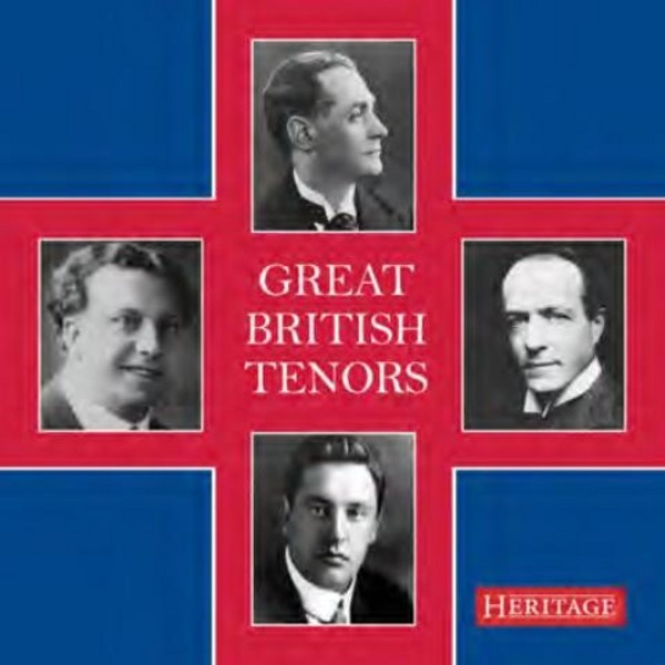 Great British Tenors | Heritage HTGCD286