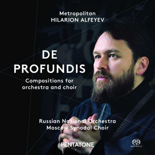 Hilarion Alfeyev - De Profundis (Compositions for orchestra and choir) | Pentatone PTC5186486