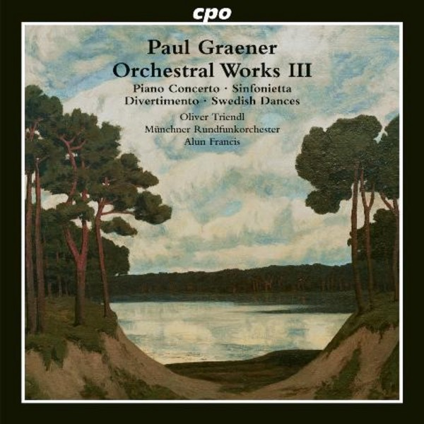 Paul Graener - Orchestral Works Vol.3 | CPO 7776972