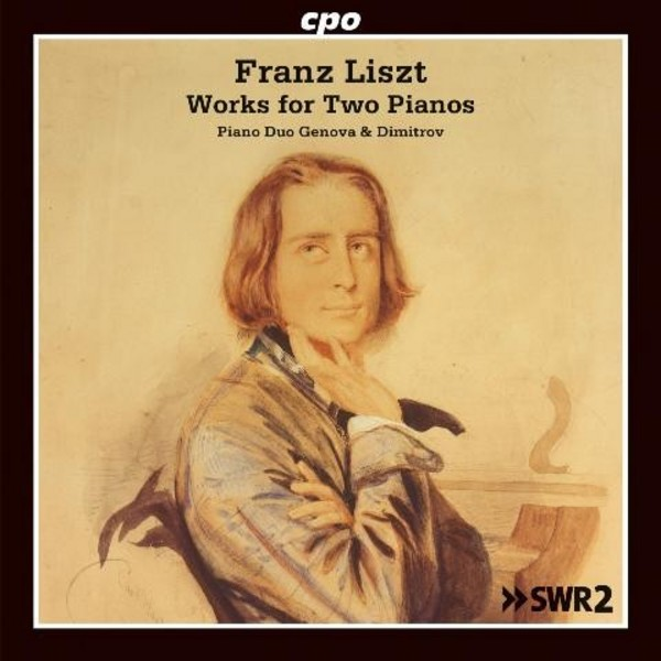 Liszt - Works for Two Pianos | CPO 7778962