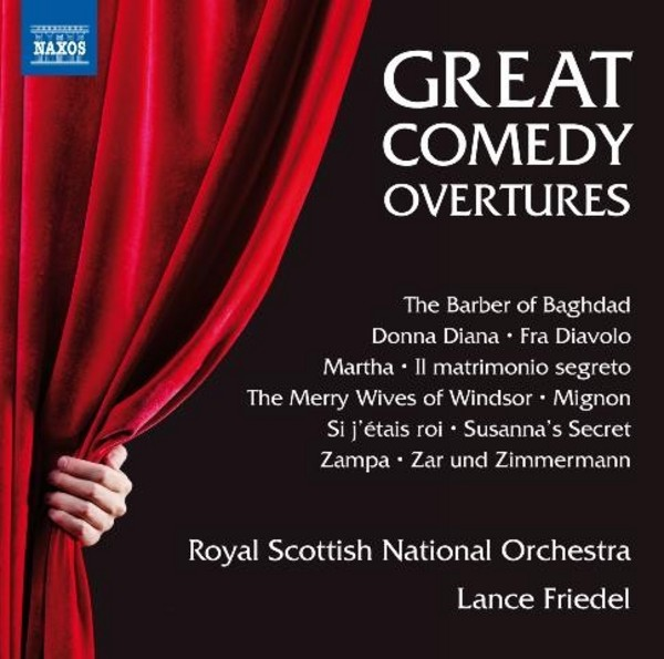 Great Comedy Overtures (CD) | Naxos 8573418