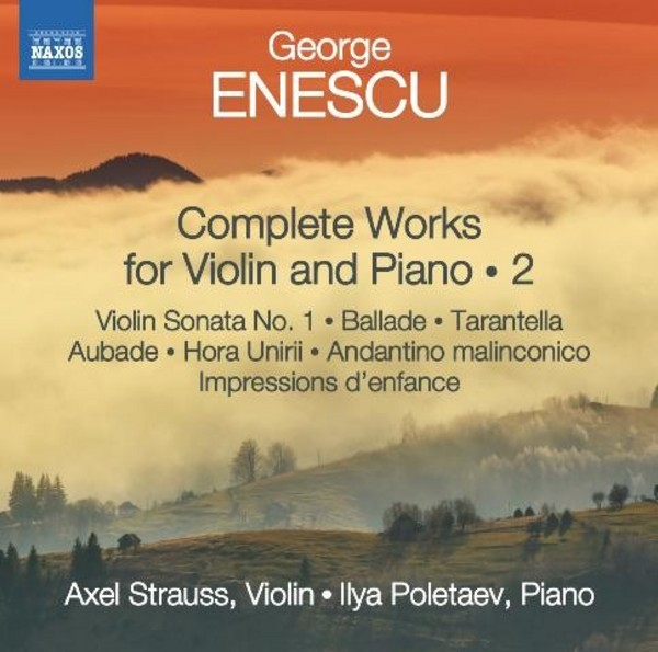 Enescu - Complete Works for Violin and Piano Vol.2 | Naxos 8572692