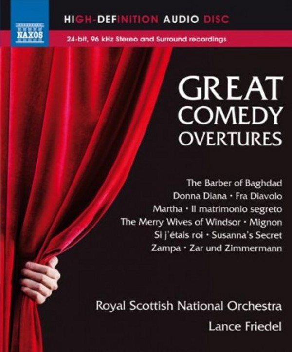 Great Comedy Overtures (Blu-ray Audio) | Naxos NBD0043