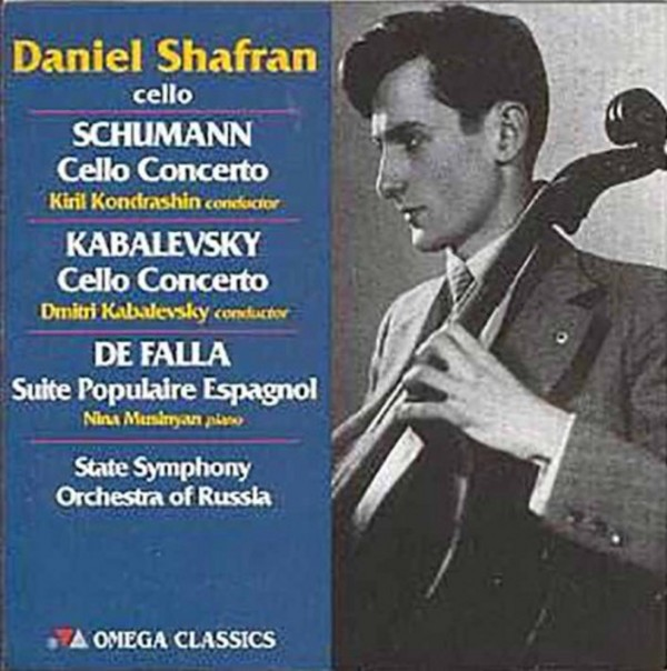 Daniel Shafran plays Schumann, Kabalevsky and de Falla | Vanguard OCD1026