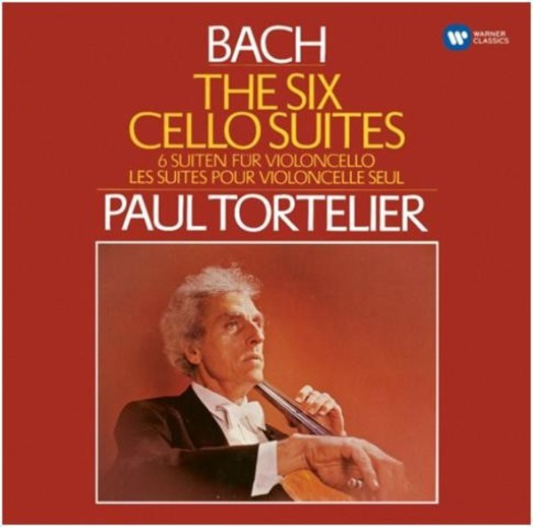 J S Bach - The Six Cello Suites | Warner - Original Jackets 5628782
