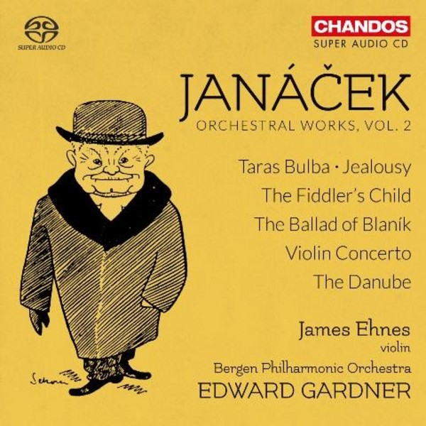 Janacek - Orchestral Works Vol.2 | Chandos CHSA5156