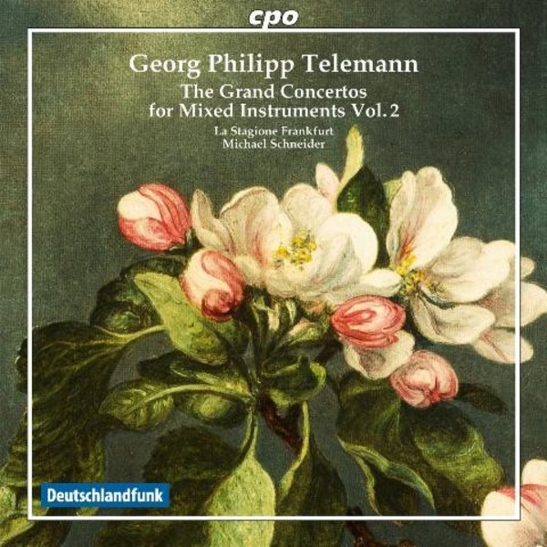 Telemann - The Grand Concertos for mixed instruments Vol.2 | CPO 7778902