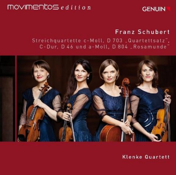 Schubert - String Quartets | Genuin GEN15360