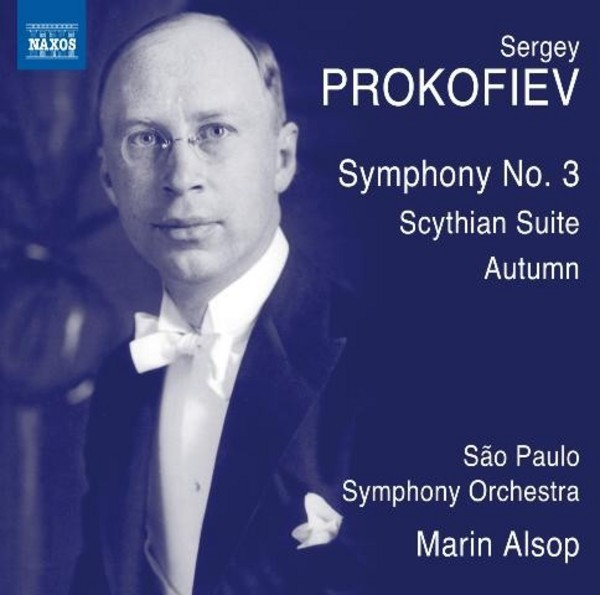 Prokofiev - Symphony No.3, Scythian Suite, Autumn (CD) | Naxos 8573452